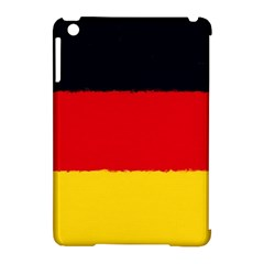 German Flag, Banner Deutschland, Watercolor Painting Art Apple Ipad Mini Hardshell Case (compatible With Smart Cover)