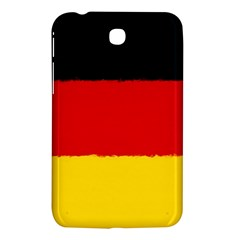 German Flag, Banner Deutschland, Watercolor Painting Art Samsung Galaxy Tab 3 (7 ) P3200 Hardshell Case