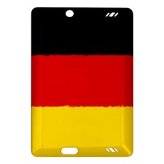 German Flag, Banner Deutschland, Watercolor Painting Art Amazon Kindle Fire Hd (2013) Hardshell Case