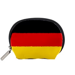 German Flag, Banner Deutschland, Watercolor Painting Art Accessory Pouches (small)