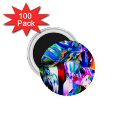 Abstract Acryl Art 1 75  Magnets (100 Pack)