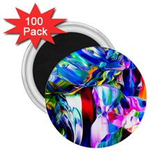 Abstract Acryl Art 2 25  Magnets (100 Pack)