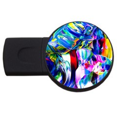 Abstract Acryl Art Usb Flash Drive Round (2 Gb)