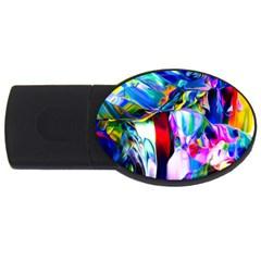 Abstract Acryl Art Usb Flash Drive Oval (2 Gb)