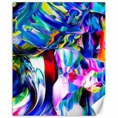 Abstract Acryl Art Canvas 16  X 20