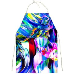 Abstract Acryl Art Full Print Aprons