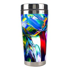 Abstract Acryl Art Stainless Steel Travel Tumblers