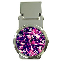 Abstract Acryl Art Money Clip Watches