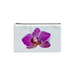 Lilac Phalaenopsis Aquarel  Watercolor Art Painting Cosmetic Bag (small)