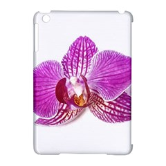 Lilac Phalaenopsis Aquarel  Watercolor Art Painting Apple Ipad Mini Hardshell Case (compatible With Smart Cover)