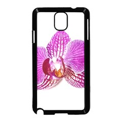 Lilac Phalaenopsis Aquarel  Watercolor Art Painting Samsung Galaxy Note 3 Neo Hardshell Case (black)