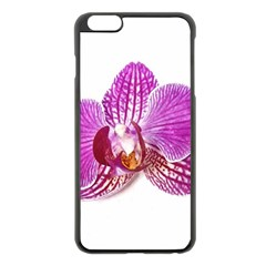 Lilac Phalaenopsis Aquarel  Watercolor Art Painting Apple Iphone 6 Plus/6s Plus Black Enamel Case