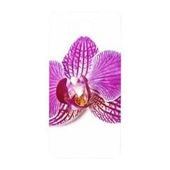 Lilac Phalaenopsis Aquarel  Watercolor Art Painting Samsung Galaxy Alpha Hardshell Back Case
