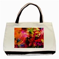 Abstract Acryl Art Basic Tote Bag