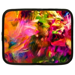 Abstract Acryl Art Netbook Case (large)