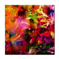 Abstract Acryl Art Face Towel