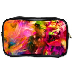 Abstract Acryl Art Toiletries Bags 2 Side