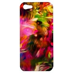 Abstract Acryl Art Apple Iphone 5 Hardshell Case