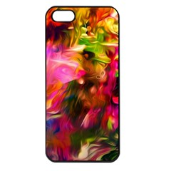 Abstract Acryl Art Apple Iphone 5 Seamless Case (black)