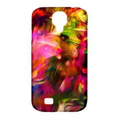 Abstract Acryl Art Samsung Galaxy S4 Classic Hardshell Case (pc+silicone)