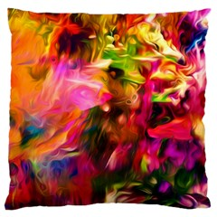 Abstract Acryl Art Standard Flano Cushion Case (two Sides)