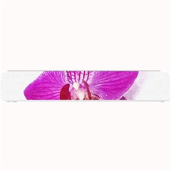 Lilac Phalaenopsis Flower, Floral Oil Painting Art Small Bar Mats