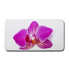 Lilac Phalaenopsis Flower, Floral Oil Painting Art Medium Bar Mats