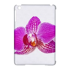 Lilac Phalaenopsis Flower, Floral Oil Painting Art Apple Ipad Mini Hardshell Case (compatible With Smart Cover)