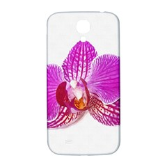 Lilac Phalaenopsis Flower, Floral Oil Painting Art Samsung Galaxy S4 I9500/i9505  Hardshell Back Case