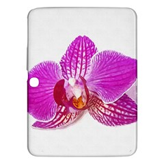 Lilac Phalaenopsis Flower, Floral Oil Painting Art Samsung Galaxy Tab 3 (10 1 ) P5200 Hardshell Case