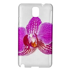 Lilac Phalaenopsis Flower, Floral Oil Painting Art Samsung Galaxy Note 3 N9005 Hardshell Case