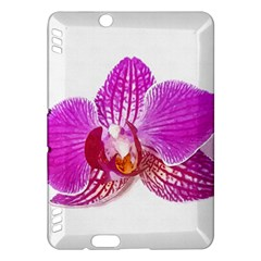 Lilac Phalaenopsis Flower, Floral Oil Painting Art Kindle Fire Hdx Hardshell Case
