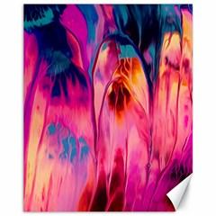 Abstract Acryl Art Canvas 11  X 14