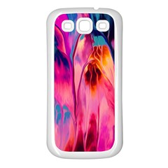 Abstract Acryl Art Samsung Galaxy S3 Back Case (white)