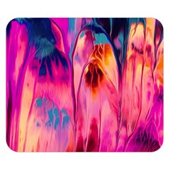Abstract Acryl Art Double Sided Flano Blanket (small)