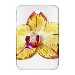 Yellow Phalaenopsis Flower, Floral Aquarel Watercolor Painting Art Samsung Galaxy Note 8 0 N5100 Hardshell Case