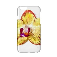 Yellow Phalaenopsis Flower, Floral Aquarel Watercolor Painting Art Apple Iphone 6/6s Hardshell Case