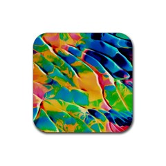 Abstract Acryl Art Rubber Coaster (square)