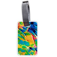 Abstract Acryl Art Luggage Tags (one Side)