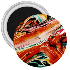 Abstract Acryl Art 3  Magnets