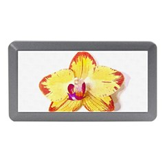 Phalaenopsis Yellow Flower, Floral Oil Painting Art Memory Card Reader (mini)