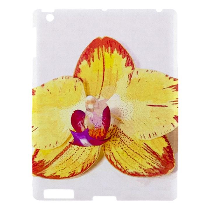 Phalaenopsis Yellow flower, floral oil painting art Apple iPad 3/4 Hardshell Case