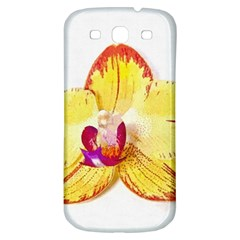 Phalaenopsis Yellow Flower, Floral Oil Painting Art Samsung Galaxy S3 S Iii Classic Hardshell Back Case