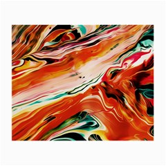 Abstract Acryl Art Small Glasses Cloth (2 Side)