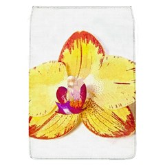 Phalaenopsis Yellow Flower, Floral Oil Painting Art Flap Covers (l)