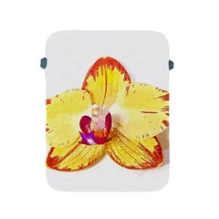 Phalaenopsis Yellow Flower, Floral Oil Painting Art Apple Ipad 2/3/4 Protective Soft Cases