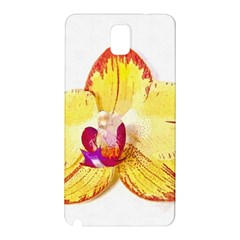 Phalaenopsis Yellow Flower, Floral Oil Painting Art Samsung Galaxy Note 3 N9005 Hardshell Back Case