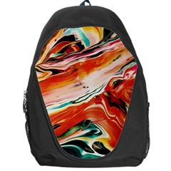 Abstract Acryl Art Backpack Bag