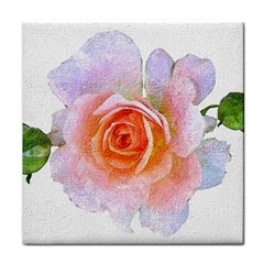Pink Rose Flower, Floral Oil Painting Art Face Towel