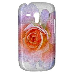 Pink Rose Flower, Floral Oil Painting Art Galaxy S3 Mini